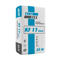 Клей для блоков морозостойкий FINITEX KF 17 цена от 183 р.